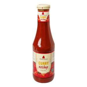 Ketchup curry FARA GLUTEN bio, 500ml